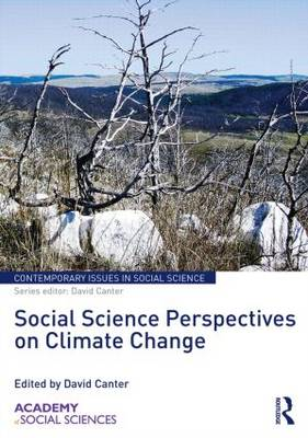 Social Science Perspectives on Climate Change - Contemporary Issues in Social Science (Hardback)