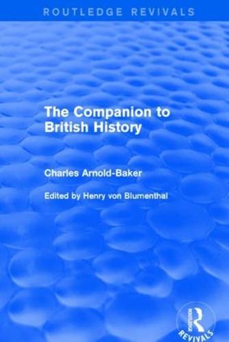 The Companion to British History (Paperback)