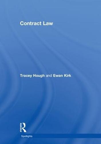 Contract Law - Spotlights (Hardback)