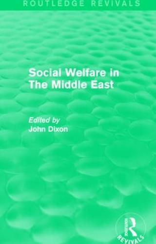 Social Welfare in The Middle East (Hardback)