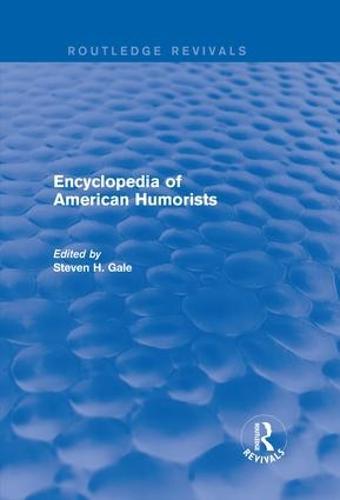 Encyclopedia of American Humorists (Hardback)
