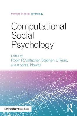 Computational Social Psychology - Frontiers of Social Psychology (Paperback)