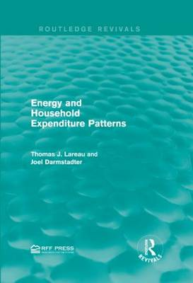Energy and Household Expenditure Patterns - Routledge Revivals (Hardback)