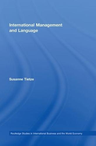 International Management and Language (Paperback)