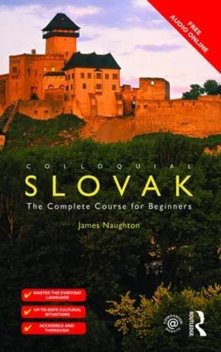 Colloquial Slovak: The Complete Course for Beginners (Paperback)