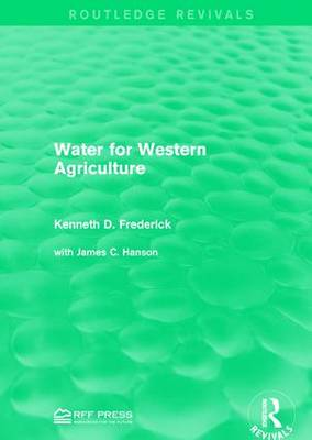 Water for Western Agriculture (Paperback)