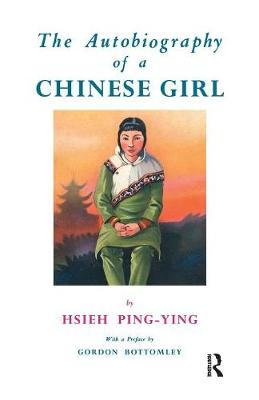 Autobiography Of A Chinese Girl (Paperback)