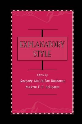 Explanatory Style (Paperback)