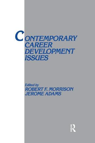 Contemporary Career Development Issues - Applied Psychology Series (Paperback)