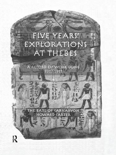 Five Yrs Exploration At Thebes (Paperback)