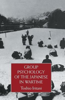 Group Psychology Of The Japanese (Paperback)