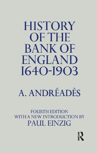 a history of the bank of