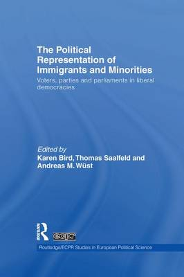 The Political Representation of Immigrants and Minorities: Voters, Parties and Parliaments in Liberal Democracies - Routledge/ECPR Studies in European Political Science (Paperback)