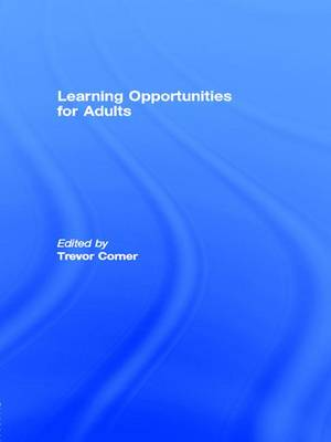 Learning Opportunities for Adults (Paperback)