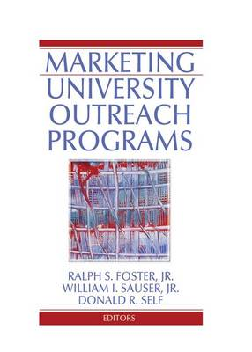 Marketing University Outreach Programs (Paperback)