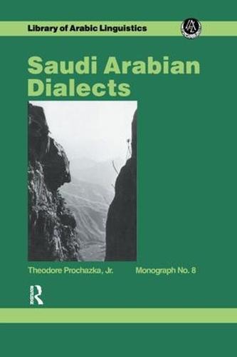 Saudi Arabian Dialects (Paperback)