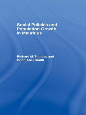 Social Policies and Population Growth in Mauritius (Paperback)