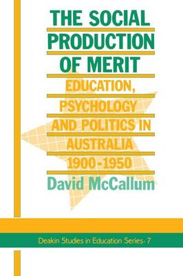 The Social Production Of Merit (Paperback)