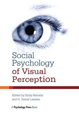 Social Psychology of Visual Perception (Paperback)