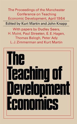 Teaching of Development Economics (Paperback)