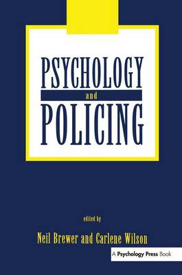 Psychology and Policing (Paperback)