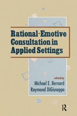 Rational-emotive Consultation in Applied Settings - School Psychology Series (Paperback)