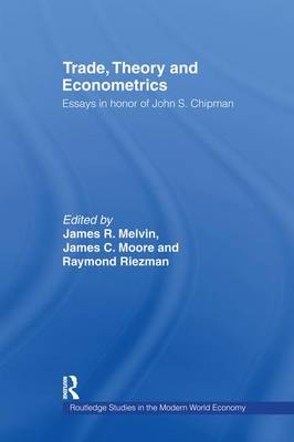 Trade, Theory and Econometrics - Routledge Studies in the Modern World Economy (Paperback)