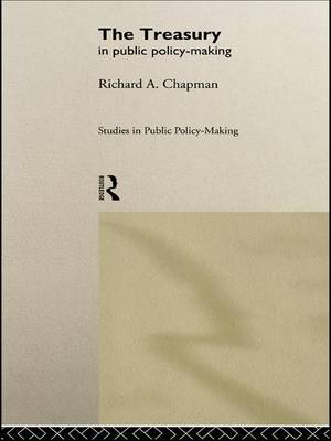 The Treasury in Public Policy-Making (Paperback)
