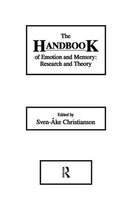 The Handbook of Emotion and Memory: Research and Theory (Paperback)