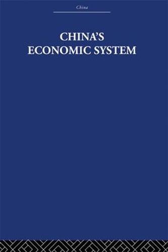 China's Economic System (Paperback)