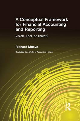 A Conceptual Framework for Financial Accounting and Reporting: Vision, Tool, or Threat? - Routledge New Works in Accounting History (Paperback)