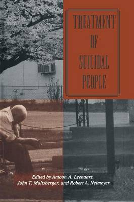 Treatment Of Suicidal People - Series in Death, Dying, and Bereavement (Paperback)