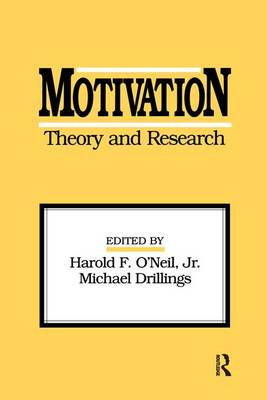 Motivation: Theory and Research (Paperback)