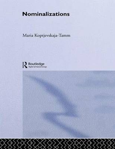 Nominalizations (Paperback)