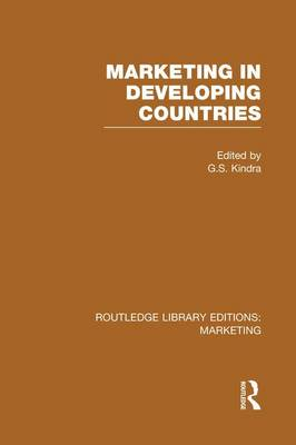 Marketing in Developing Countries - Routledge Library Editions: Marketing (Paperback)