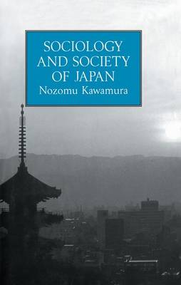 Sociology & Society Of Japan (Paperback)