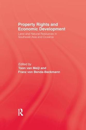 Property Rights & Economic Development (Paperback)