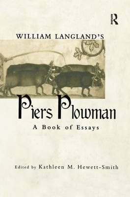 William Langland's Piers Plowman: A Book of Essays - Garland Medieval Casebooks (Paperback)