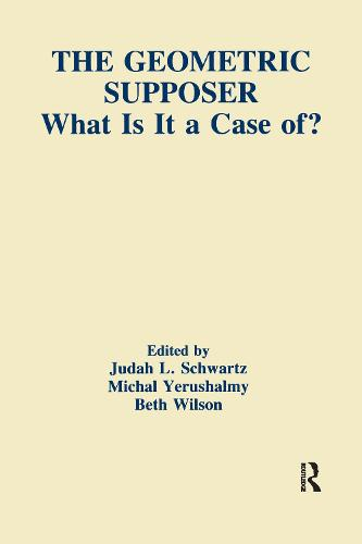 The Geometric Supposer: What Is It A Case Of? - Technology and Education Series (Paperback)