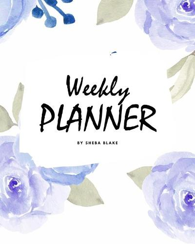 Weekly Planner - Blue Interior (8x10 Softcover Log Book / Tracker / Planner) (Paperback)