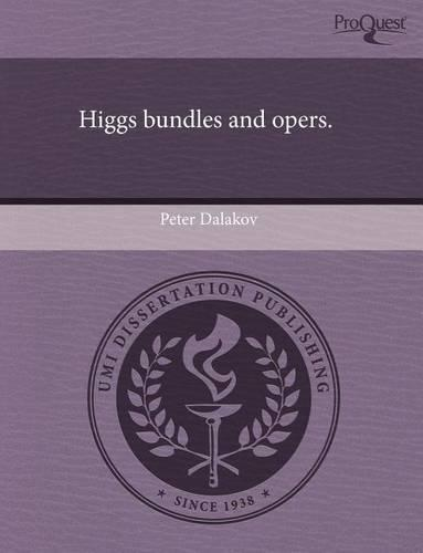 Higgs Bundles and Opers. (Paperback)