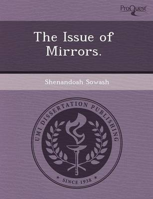 The Issue of Mirrors (Paperback)