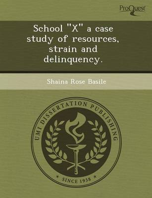 School X a Case Study of Resources (Paperback)