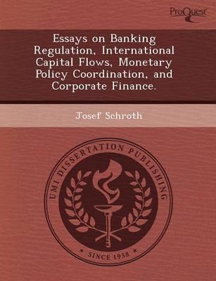 Essays on Banking Regulation (Paperback)