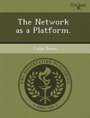 The Network as a Platform (Paperback)