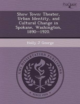 Show Town: Theater (Paperback)