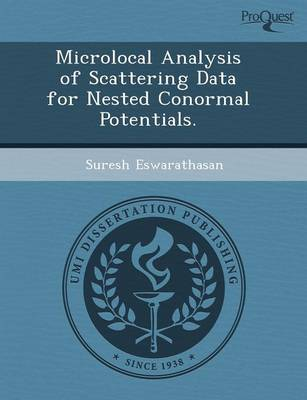 Microlocal Analysis of Scattering Data for Nested Conormal Potentials (Paperback)