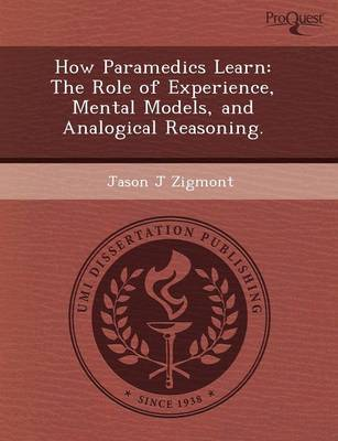 How Paramedics Learn: The Role of Experience (Paperback)