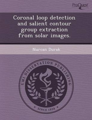 Coronal Loop Detection and Salient Contour Group Extraction from Solar Images (Paperback)