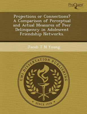 Projections or Connections? a Comparison of Perceptual and Actual Measures of Peer Delinquency in Adolescent Friendship Networks (Paperback)
